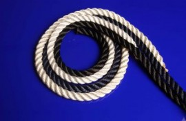 3 Strand Polyester White Rope
