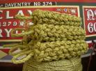 Large Side Fender - Manila  colour Natural style  Rope