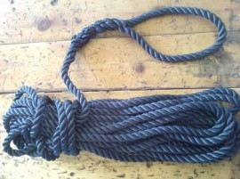 Kingfisher 15m Spliced 3 Strand Polyester Rope