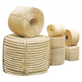 220m Coil of Sisal Natural Rope