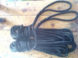 Kingfisher 2x 10m Spliced 3 Strand Polyester Rope